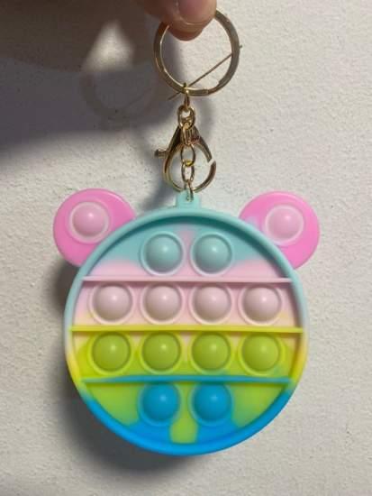 Breloc portofel Mickey Mouse multicolor