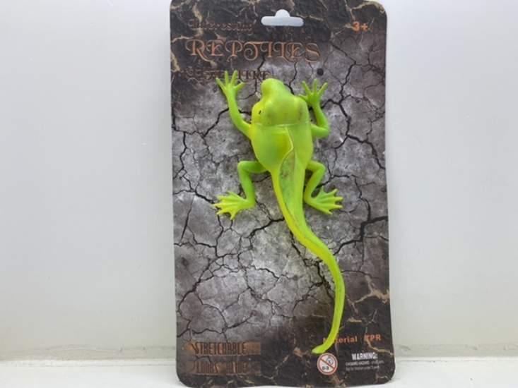 Jucărie șopârla verde