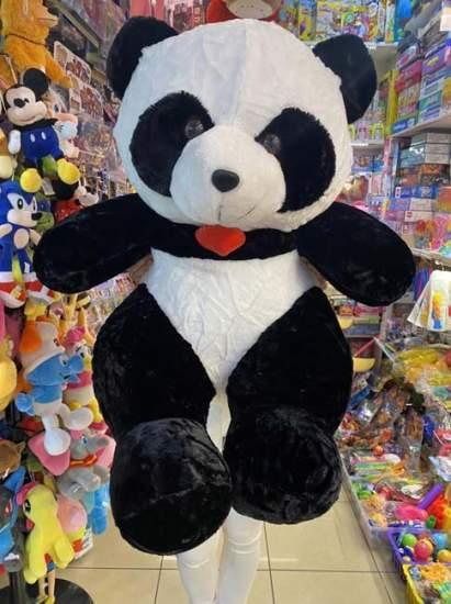 Urs panda cu medalion cu inima 90cm